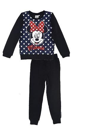 Chandal niña Minnie Disney color Azul Talla 8: Amazon.es: Ropa y ...