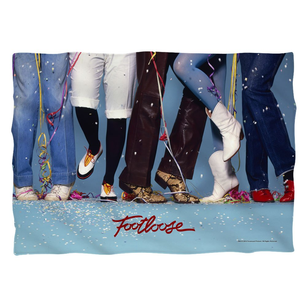 Footloose 80s Musical Drama Dance Movie Loose Feet Front Print Only Pillow Case