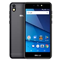 "BLU Advance 5.2 - Unlocked Smartphone - 5.2"" Display, 8GB +1GB RAM -Black"