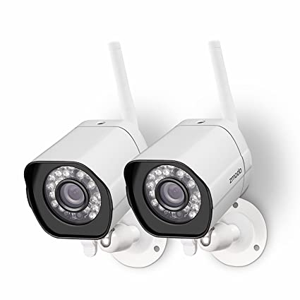 Amazon zmodo wireless security camera system 2 pack smart hd zmodo wireless security camera system 2 pack smart hd outdoor wifi ip cameras night solutioingenieria Images