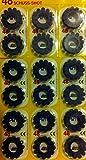 edison giocattoli Caps for Drum, Set of 576 (48 Rings of 12 Cap Gun)