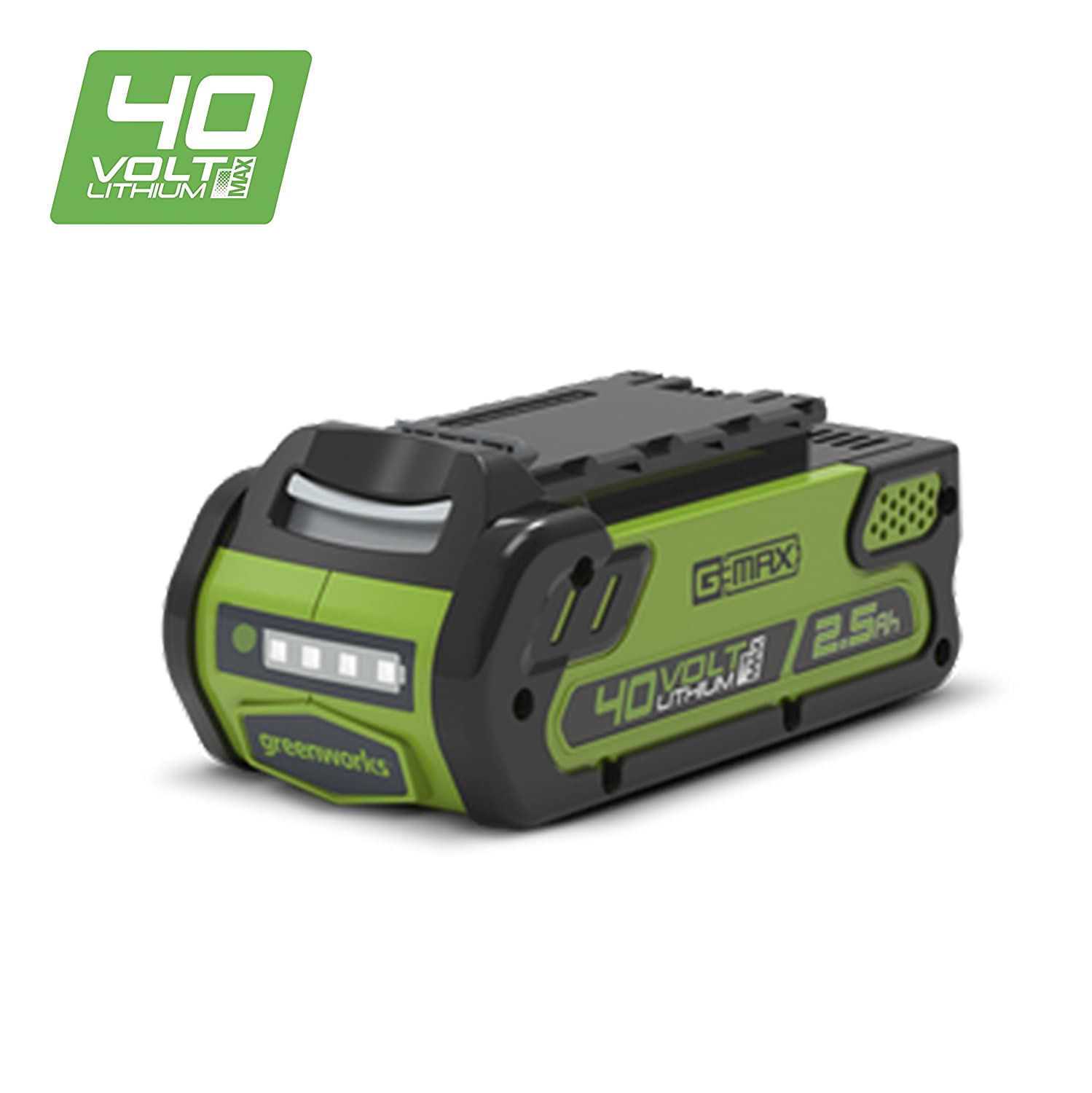 Greenworks 40V Lithium-Ionen Akku 2Ah (ohne Ladegerä t) - 29717 Greenworks Tools GWT40VS2-BATTERY2.0AH