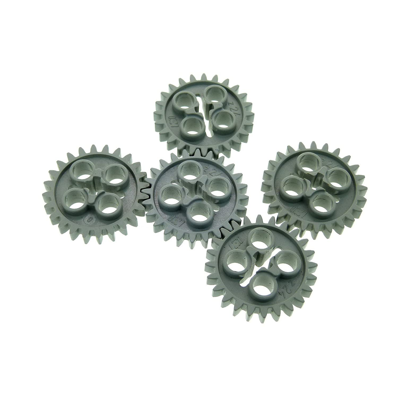 4x LEGO® Technic 3648 Zahnrad//Zahnräder 24 Zähne neu-dunkelgrau NEU 24505 gear