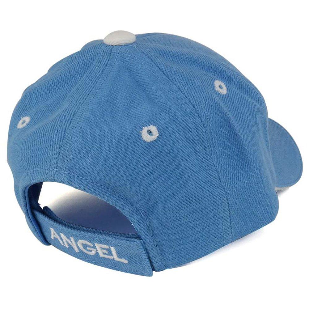 Trendy Apparel Shop Infant Size Angel 3D Embroidered Adjustable Baseball Cap