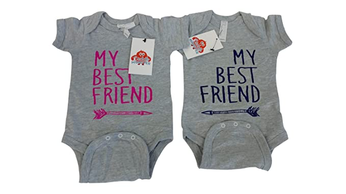 Amazoncom Boy Girl Twin Outfits Twin Boy And Girl Baby Clothes