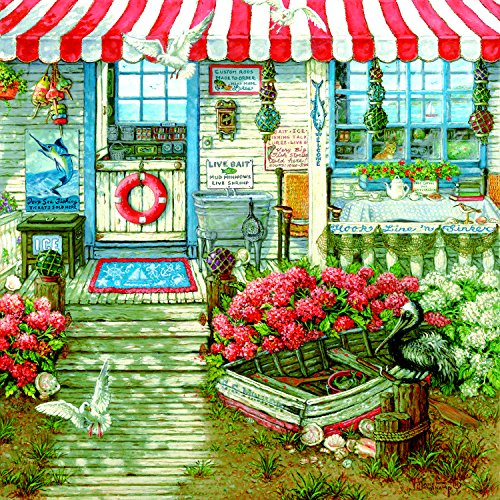 Hook Line and Sinker 1000 1000 Piece Jigsaw Puzzle by SunsOut