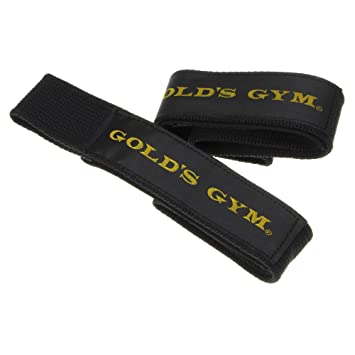 amazon gold s gym ゴールドジム リストストラップ g3500 ゴールド