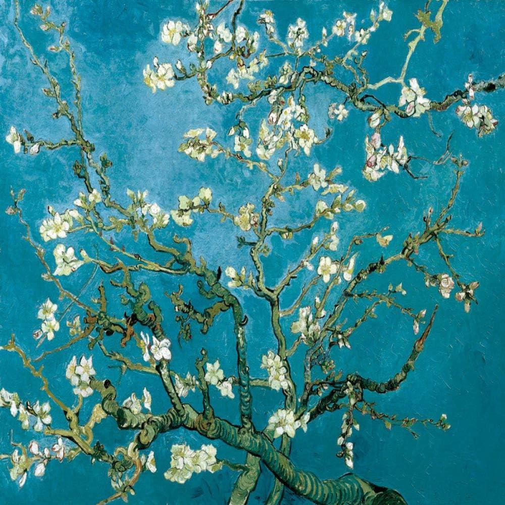 zlhcich Flor de Albaricoque Estrellado Cosecha salón Pintura Decorativa núcleo 11 100x60 versión Horizontal: Amazon.es: Hogar