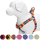 Blueberry Pet Soft & Comfortable Vintage Tribal Pattern or Nautical Flags Dog Harness, Matching Collar & Leash Available Separately