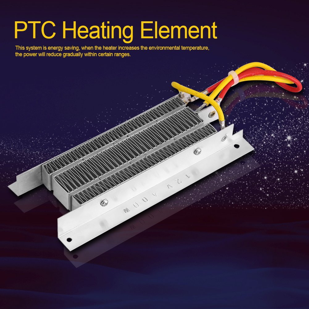 Amazon.com: PTC Air Heaters 12V 400W Electric Ceramic Heater Thermostatic Insulation PTC Heating Element: Home & Kitchen