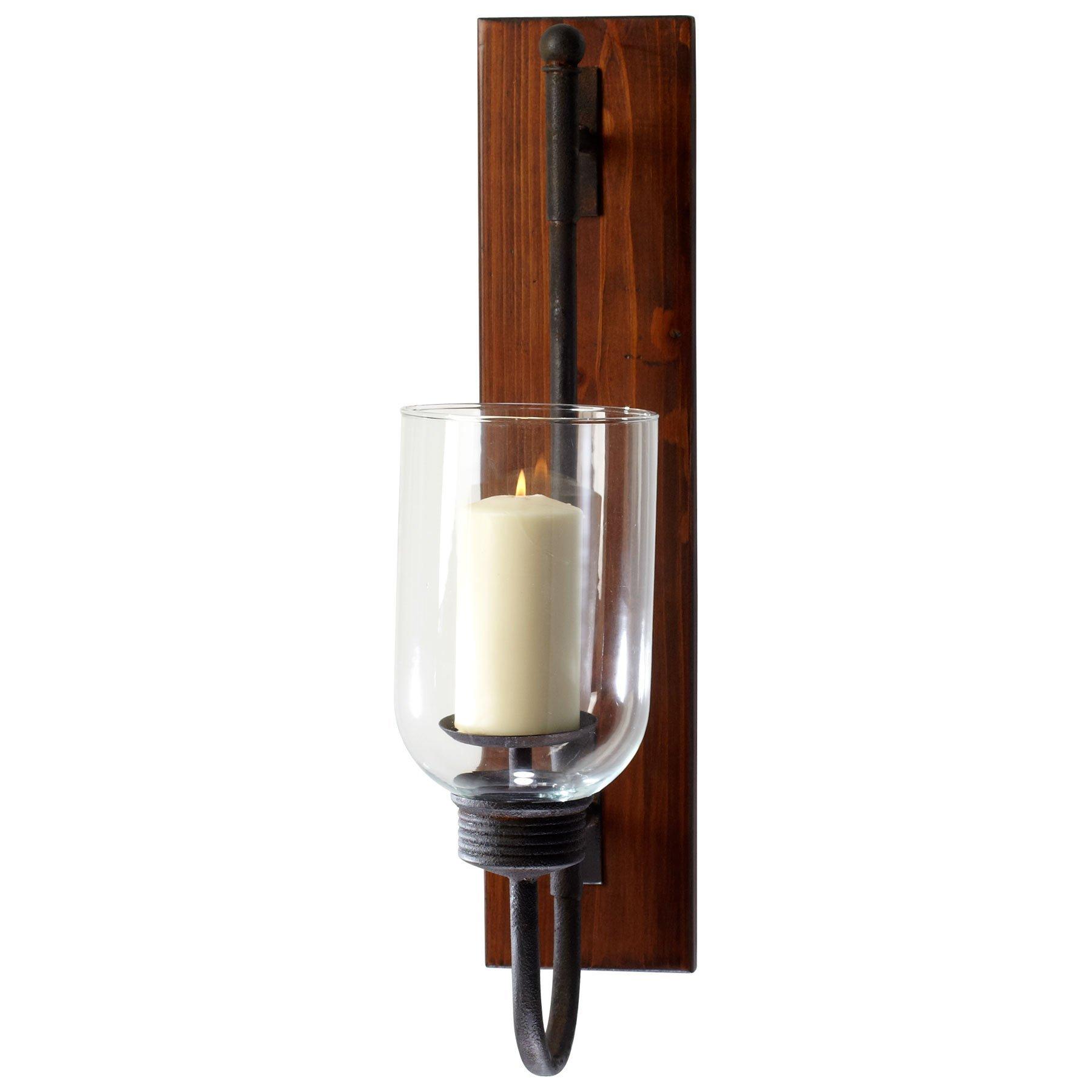 Cyan Design 4938 Sydney Wall Candleholder, Brown/Bronze/Rust by Cyan Design