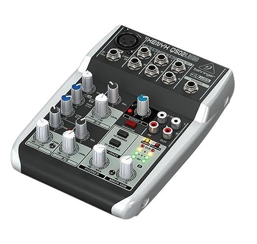Behringer Q502USB Xenyx Mixer