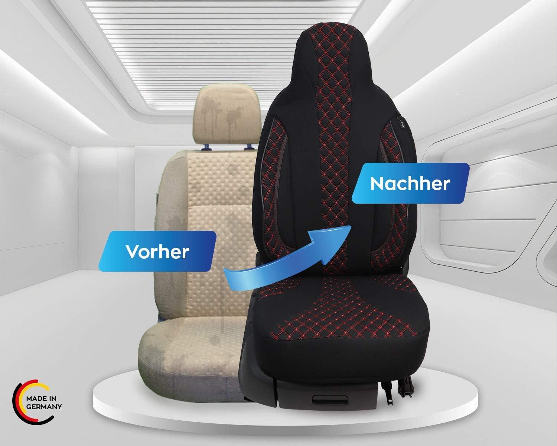 Maß Sitzbezüge Kompatibel Mit Skoda Citigo Fahrer Beifahrer Ab 2011 Farbnummer Pl402 Auto