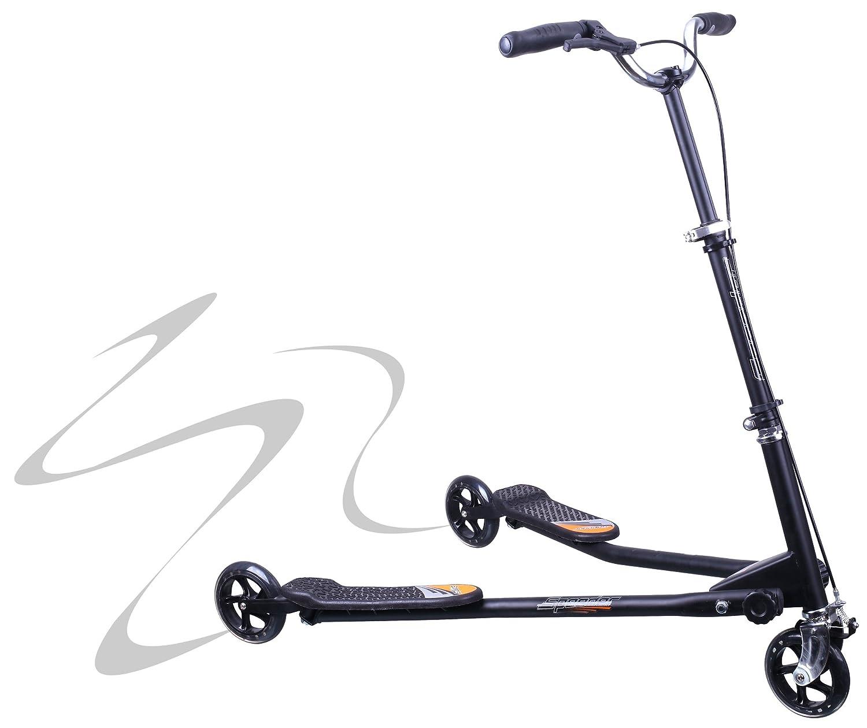 Patinete Speeder 3 ruedas 200 mm. tipo Reflexx negro: Amazon ...