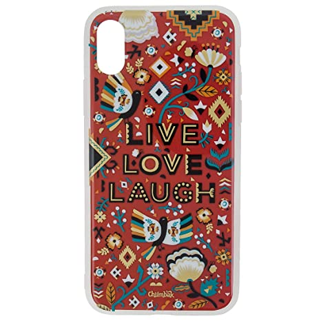 check out 2153c 9b625 Chumbak Aztec Garden 3D Gold iPhone X Case: Amazon.in: Electronics