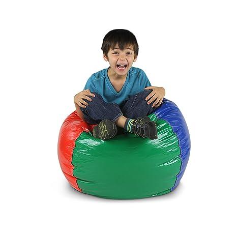 Wondrous American Furniture Alliance Wetlook Bean Bag Jr Child Multicolor Short Links Chair Design For Home Short Linksinfo