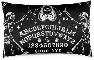 "Tidyki Vintage Magic Ouija Board Family Pillow Covers Cushion Cover Square Throw Pillowcase for Decor Sofa House Bed Wedding 20""x30"""