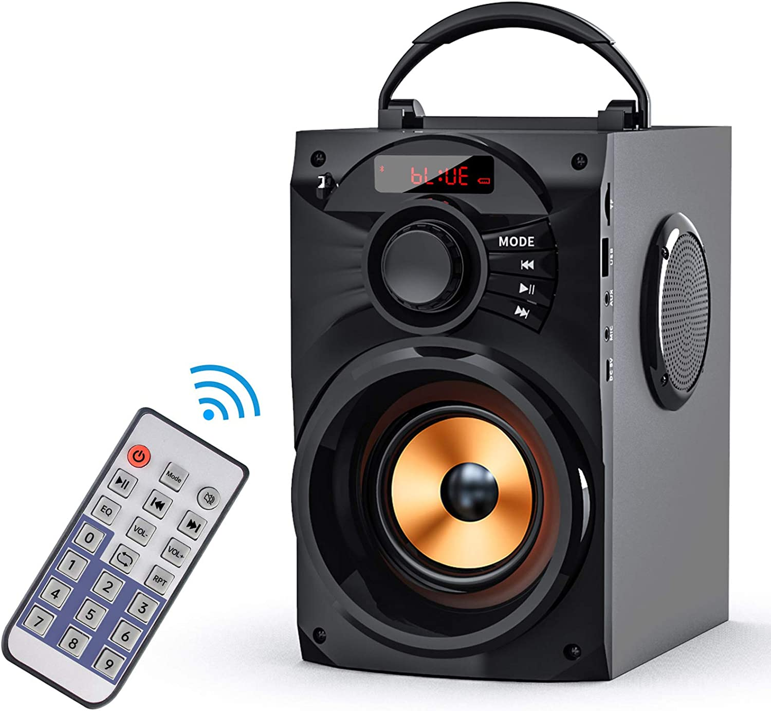 Portable Bluetooth Speakers Subwoofer Heavy Bass