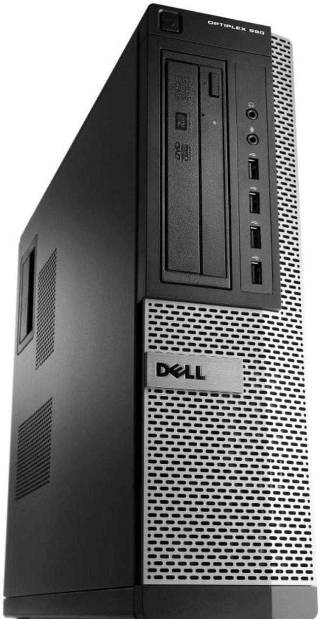 Optiplex Premium Business Desktop Computer (Intel Quad-Core i5-2400 up to 3.4GHz, 16GB RAM, New 480GB SSD HDD, WiFi, Windows 10) (Renewed)