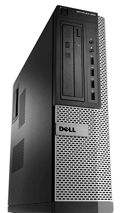 Dell Optiplex 390 Desktop PC - Intel Core i3-2120 3 3GHz 4GB 250GB DVD  Windows 10 Pro (Renewed)