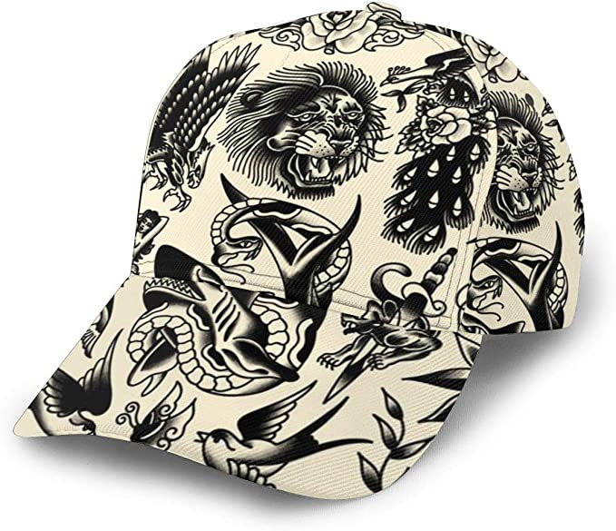 Liliylove Purely Picture Machine Gorra de béisbol Ajustable para ...