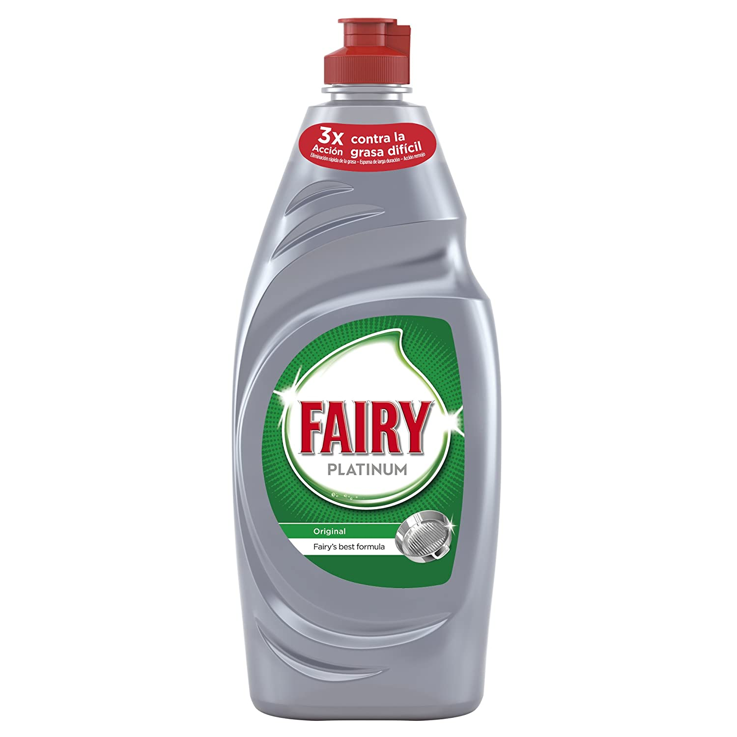 Fairy - Mano Platinum Original - 650 ml - [pack de 4]: Amazon.es ...