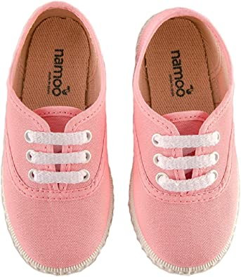 Namoo Kids Cap Toe Sandal for Girls and Boys Baby-Toddler-Kid Shoe Cotton and Rubber Sole