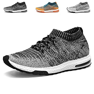 Mens Lightweight Running Shoes I Love You Flyknit Sneakers