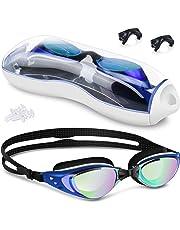 95a5a6929af3 BROTOU Occhialini da Nuoto, Anti-Appannamento Occhiali da Piscina  Agonistico Protezione UV Impermeabile,