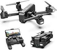 Holy Stone HS270 GPS 2.7K Drone with FHD FPV Camera Live Video for Adults, Portable Selfie Quadcopter for Beginners with Auto