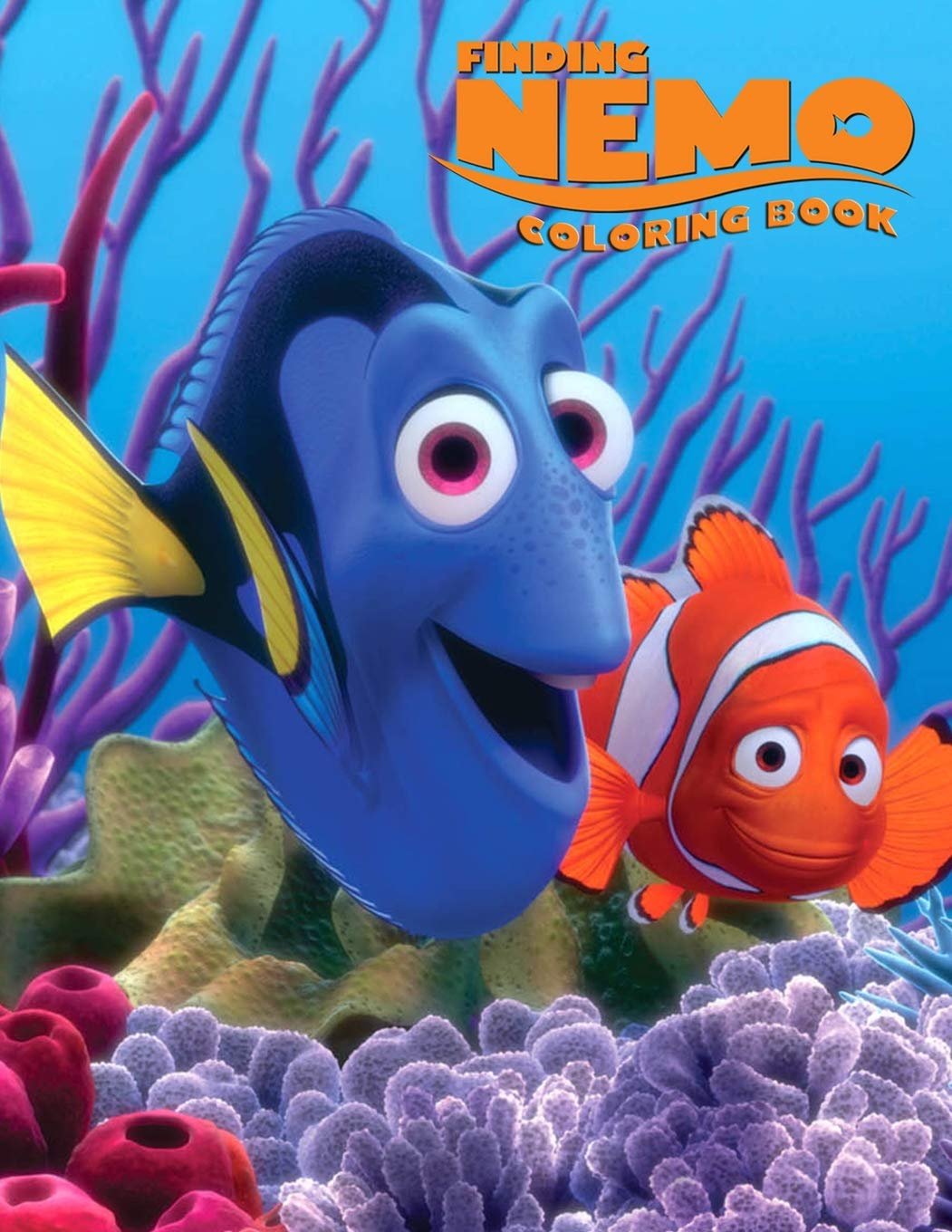 Finding Nemo Coloring Book: Finding Nemo Coloring Book ...