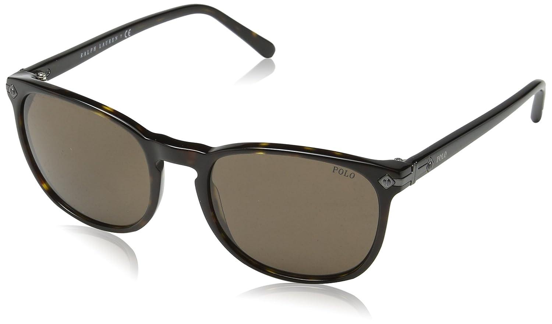 Sonnenbrillen Polo Ralph Lauren Sunglasses 4107 500187 Shiny Black Grey