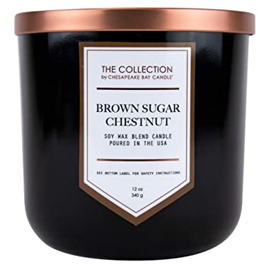 Chesapeake Bay Candle The Collection Two-Wick Scented Candle, Brown Sugar Chestnut