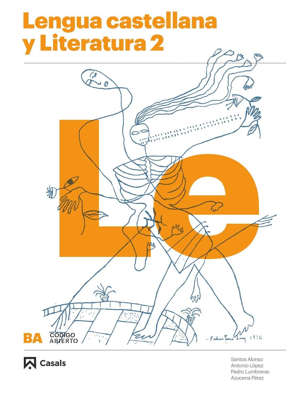 Lengua castellana y Literatura 2 Ba 2020 Código abierto: Amazon.es ...