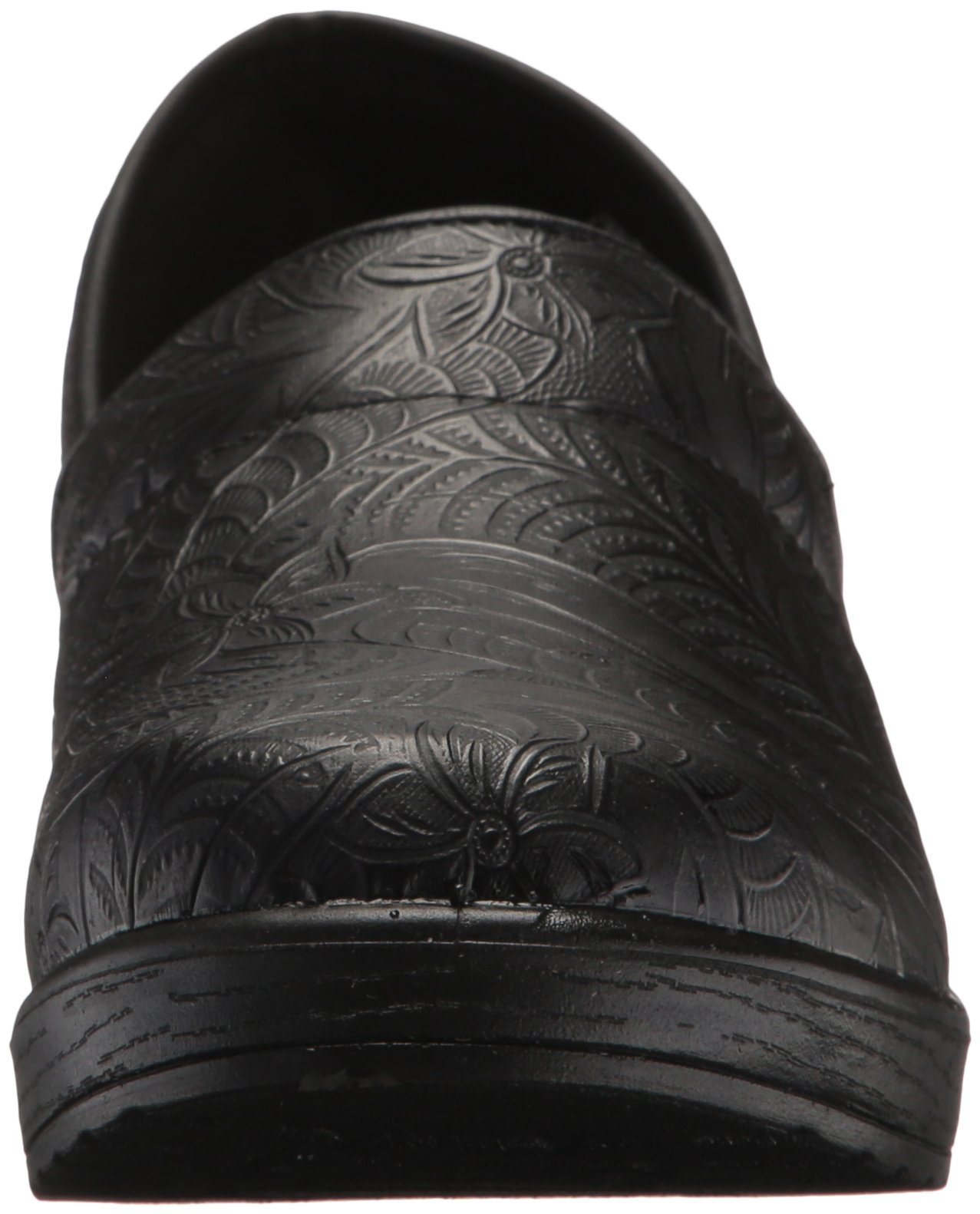 Easy Works Women's Lyndee Health Care Professional Shoe, Black Emboss, 9 W US by Easy Works (Image #4)