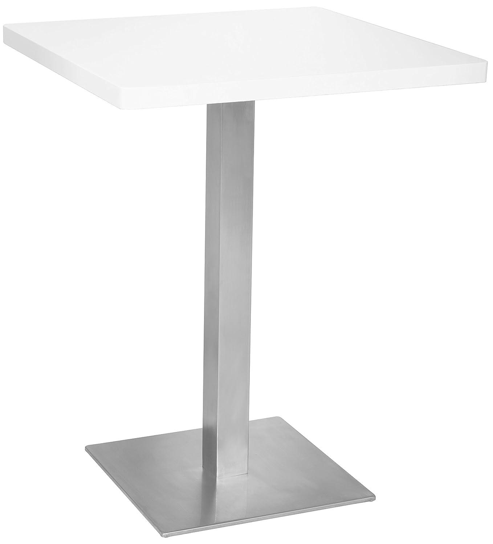 SixBros. Tavolo da Bar Tavolo Alto Bianco 60x60x75 - M-BT60/1855
