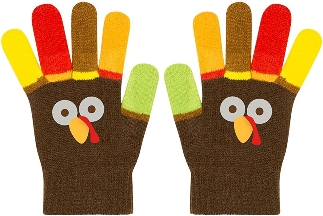 Run Now Gobble Later Turkey Running Gloves   Running Gloves by Gone For a Run: Clothing