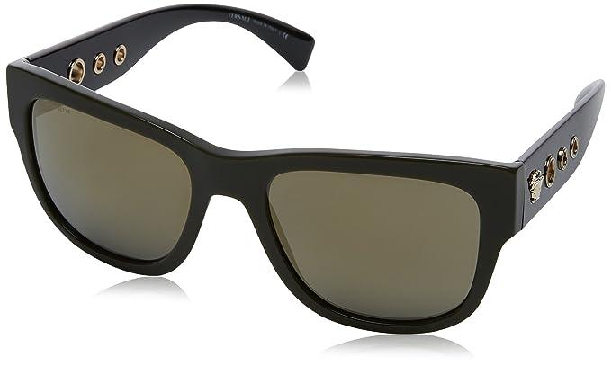 Versace 0Ve4319 Gafas de sol, Green, 56 para Hombre: Amazon ...