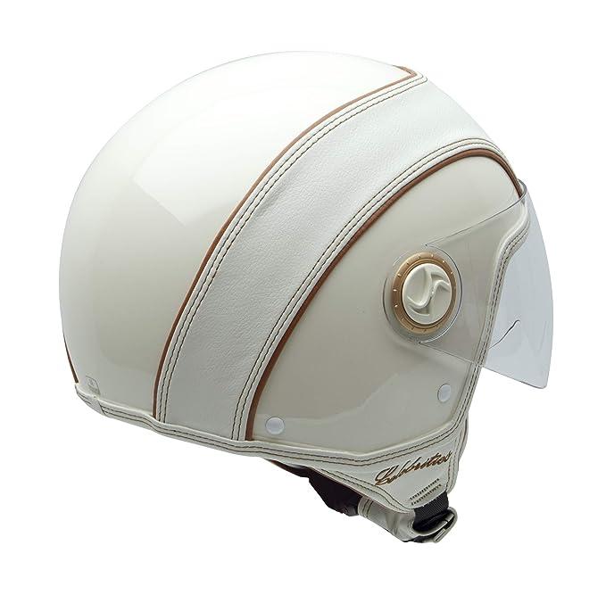 Amazon.es: NZI 150213G300 Celebrities Casco de Moto, Color Blanco, Talla 54 (XS)