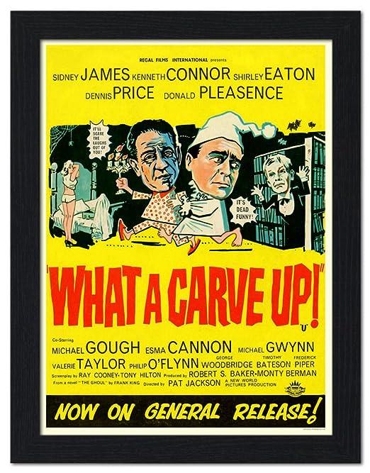qué trinchemos, Sid James - cartel de película enmarcado de ...