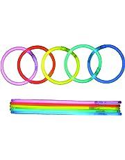 BYS 100 Premium Light Sticks resaltan Las Vigas y Accesorios Oscuros para Fiestas, Bodas y Halloween