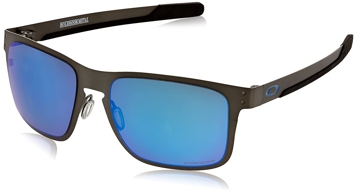 589175d5f39 Oakley Holbrook Metal Polarized Iridium Square Sunglasses