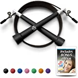 321 STRONG Plastic Jump Rope - Great Cardio Workout for Men, Women, and Kids
