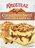 Krusteaz Cinnamon Crumb Cake Mix - 21 oz