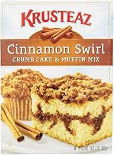 Krusteaz Crumb Cake & Muffin Mix Cinnamon Swirl, ...