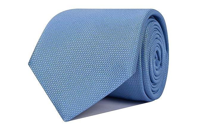 SoloGemelos - Corbata De Seda En Azul Claro - Azul - Hombres ...