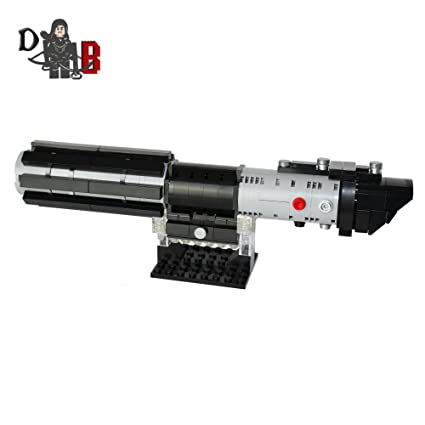 Star Wars Obi Wan Kenobi S Lightsaber From Revenge Of The Sith Made Using Lego Lego Building Toys Toys Games Lego Building Toys