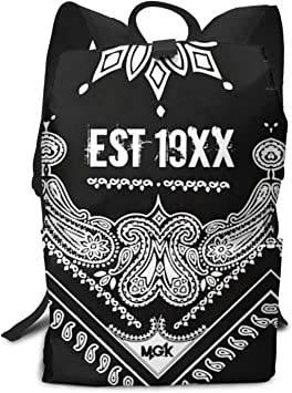 M-G-K Backpack Students Bookbags Durable Lightweight Daypacks 17 Inch Rucksack For Students Or Adults