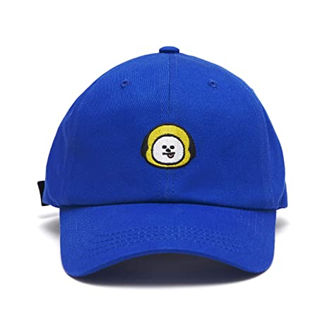 Line Friends Bt21 Official Merchandise Character Baseball Cap Hats For Men And Women by Line Friends