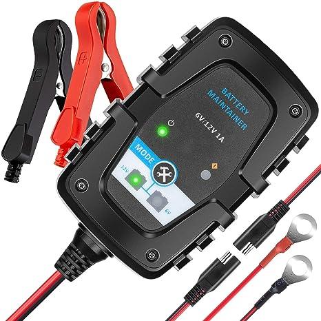 Amazon.com: MEEARO Cargador de batería para coche: Automotive